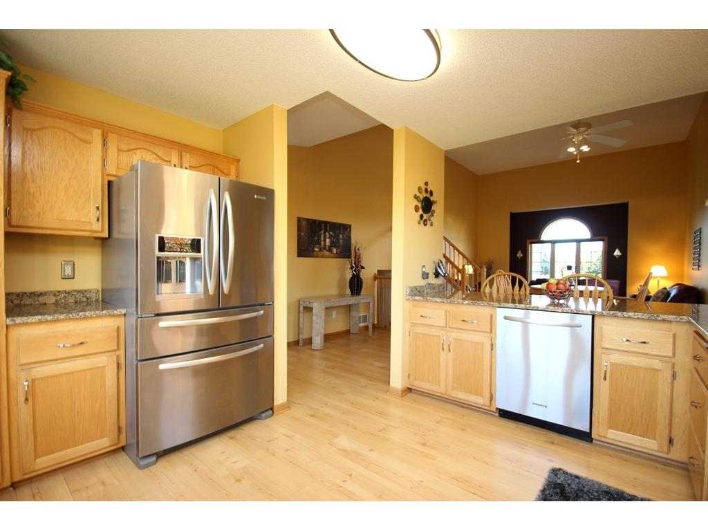 Great space to prepare all your favorite meals in your new kitchen! New stainless steel appliances!