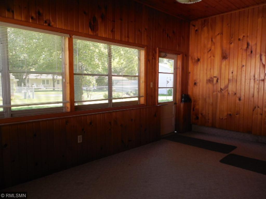 Enjoy nice fall days in this three season porch.