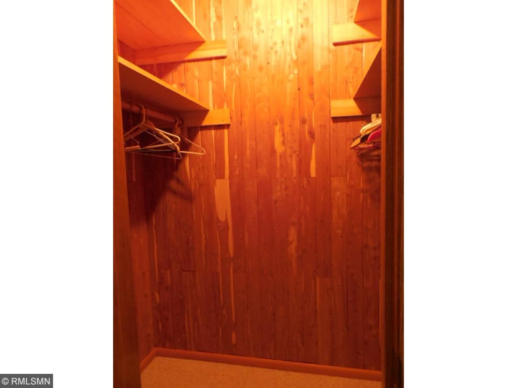 One of two big closets in the upstairs hall.  Big enough to convert into a main floor laundry.
