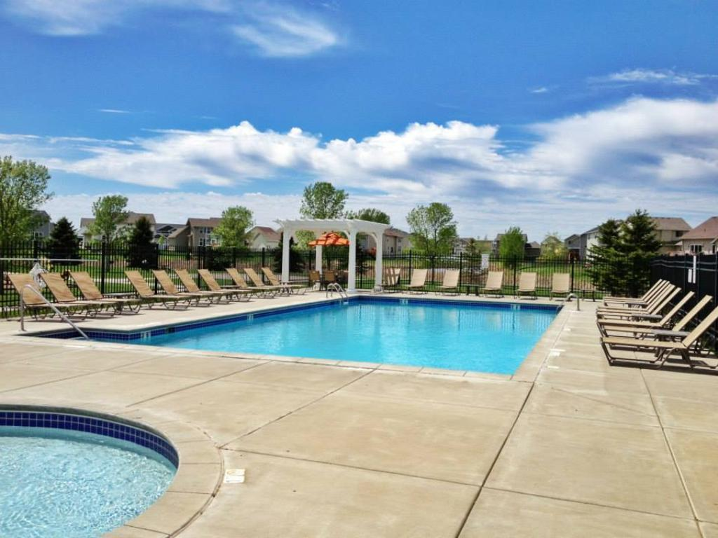 "Martin Farms is where ""memories are made""! The community includes a relaxing pool, park, playground, soccer field, sport court, picnic table and grills plus many fun events throughout the  year! All of this for very low dues of only $128 a quarter!"