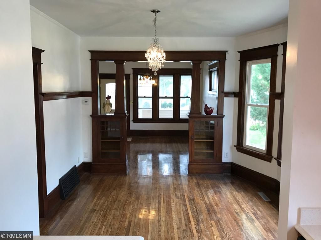 Beautiful Oak woodwork completely restored
