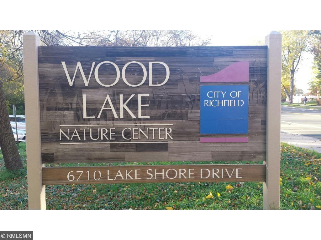 Enjoy Nearby Wood Lake Nature Center