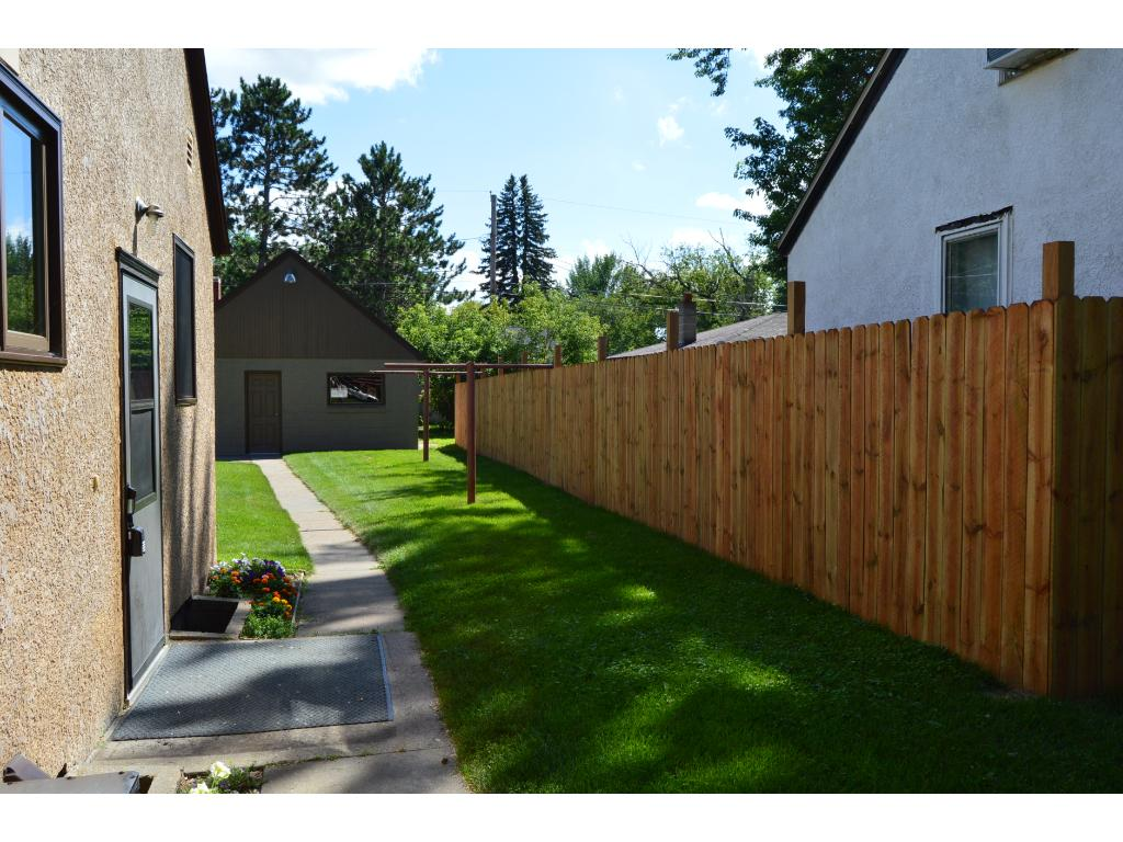 Newly installed privacy fence!