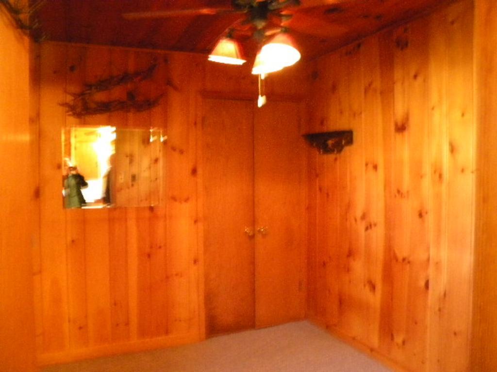 Bedroom in main cabin