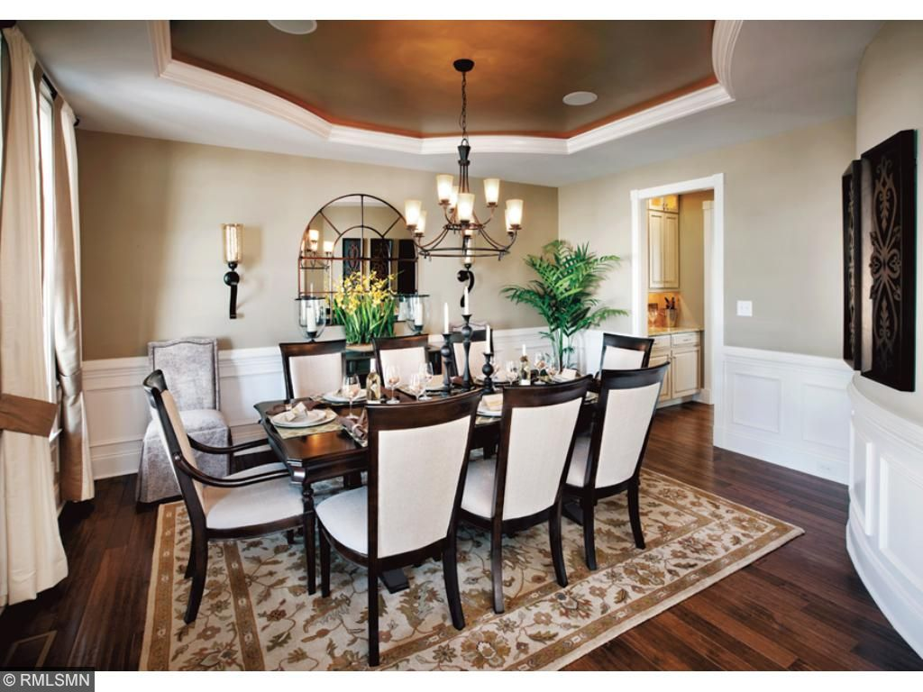Formal Dining Room, design selections available. Does not come standard with a tray ceiling.