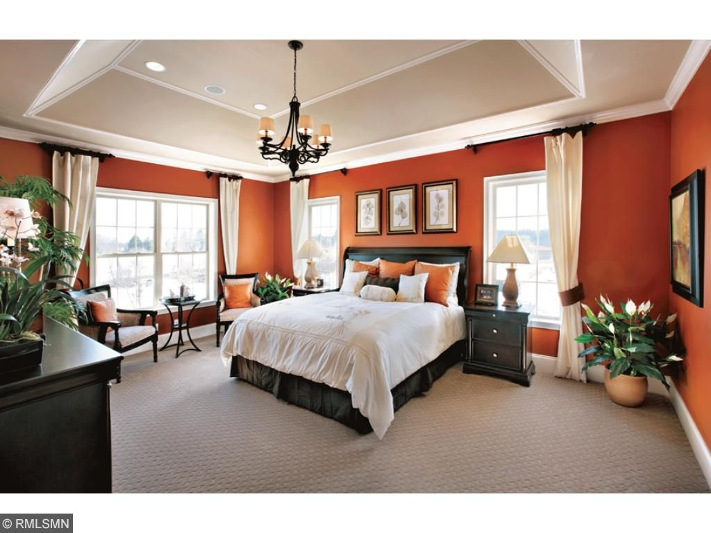 Master Bedroom suite, design selections available. Does not come standard with coffered ceiling.