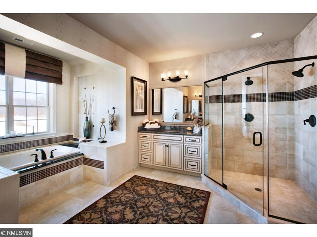Master Bathroom, design selections available.