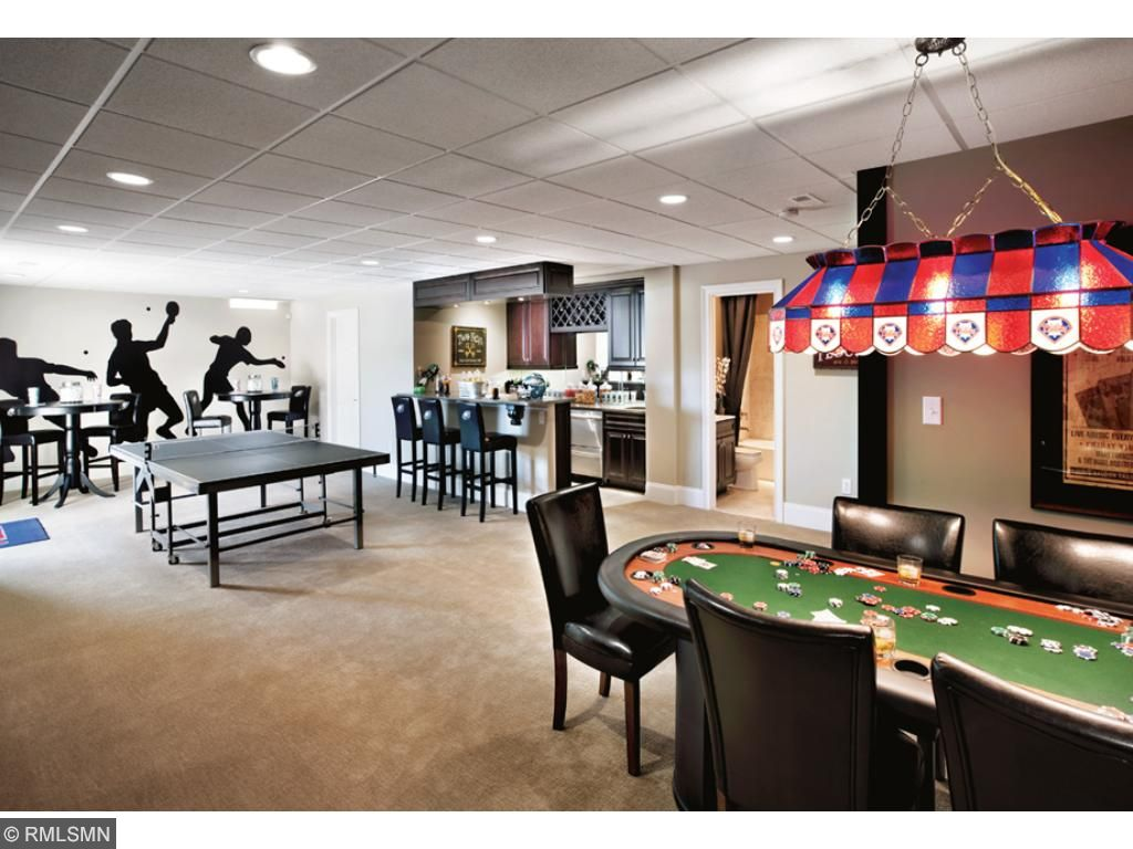 Full finished basement, design selections and layout options available.