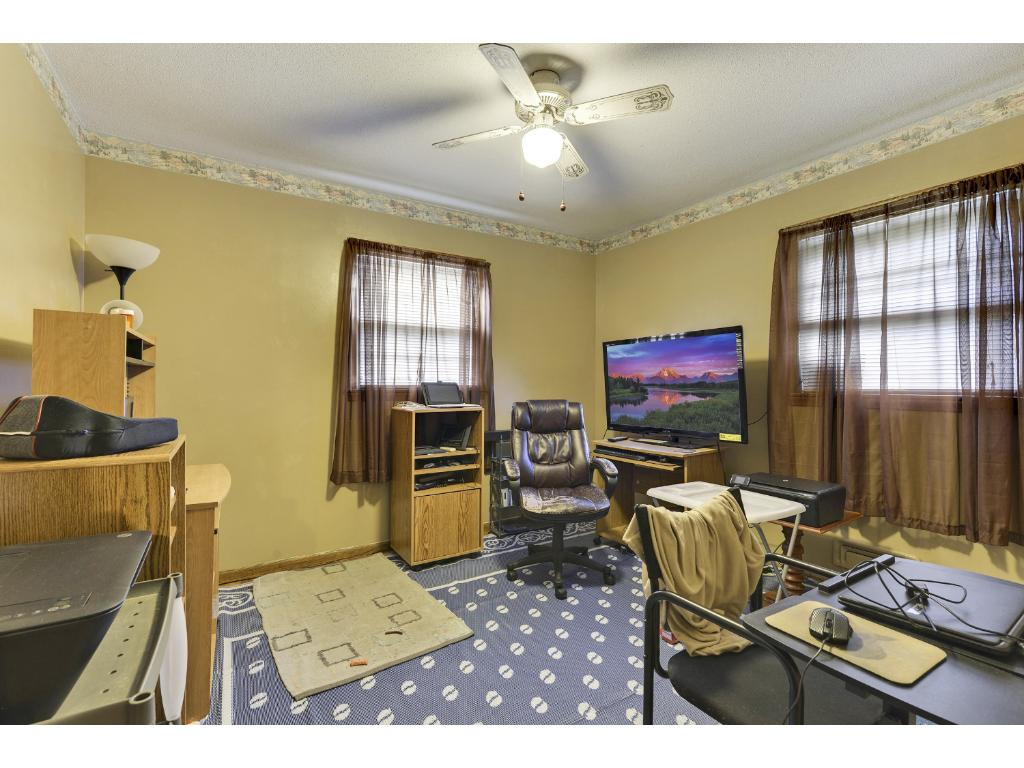 Third bedroom which great for office or guest room!
