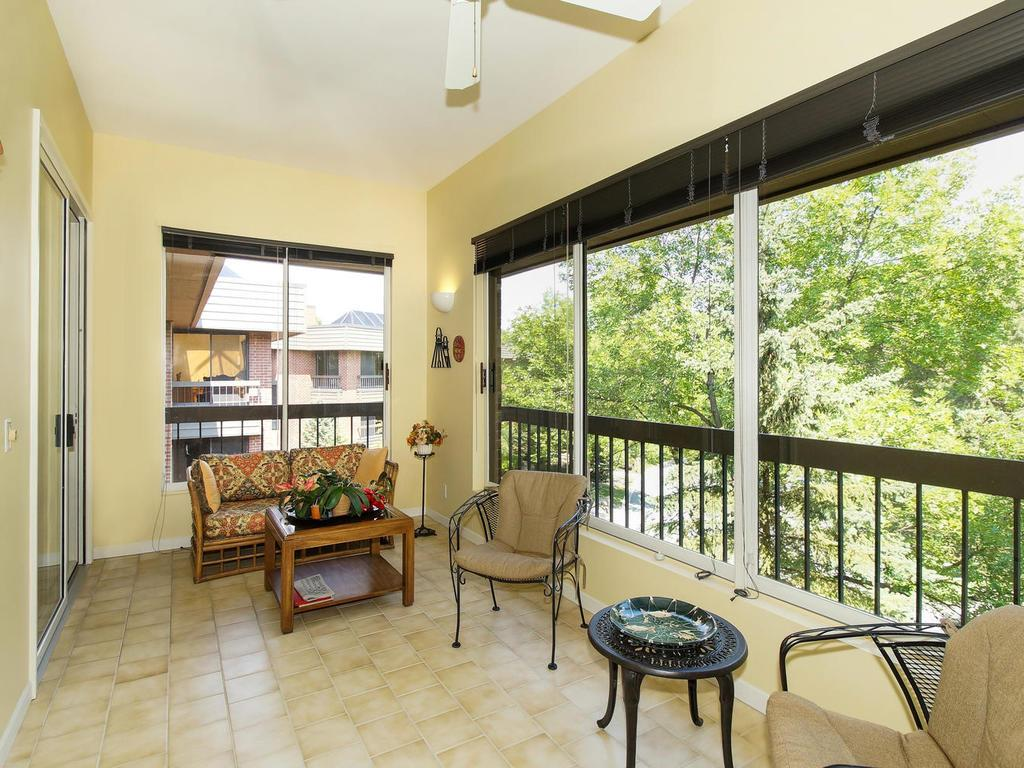 Loads of space for informal dining, coffee in the morning, reading your favorite book and more!