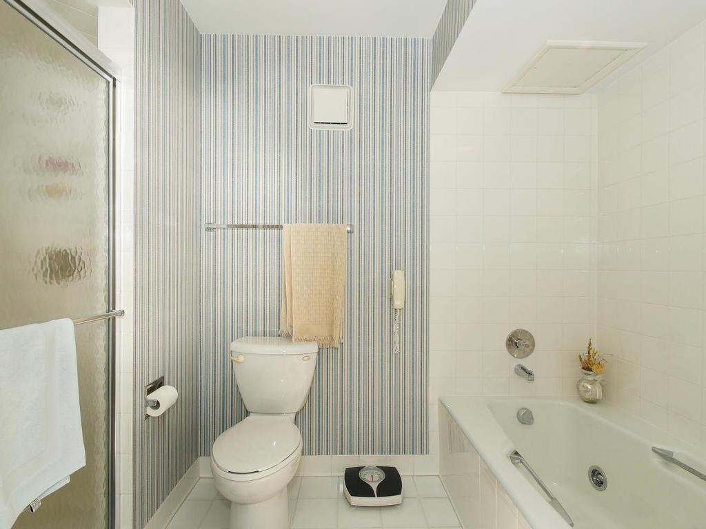 The spacious master bath has a separate shower and tub too!