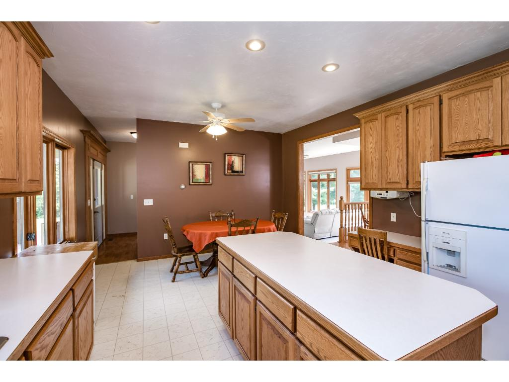 Large Kitchen, Mud Room and main floor Laundry.