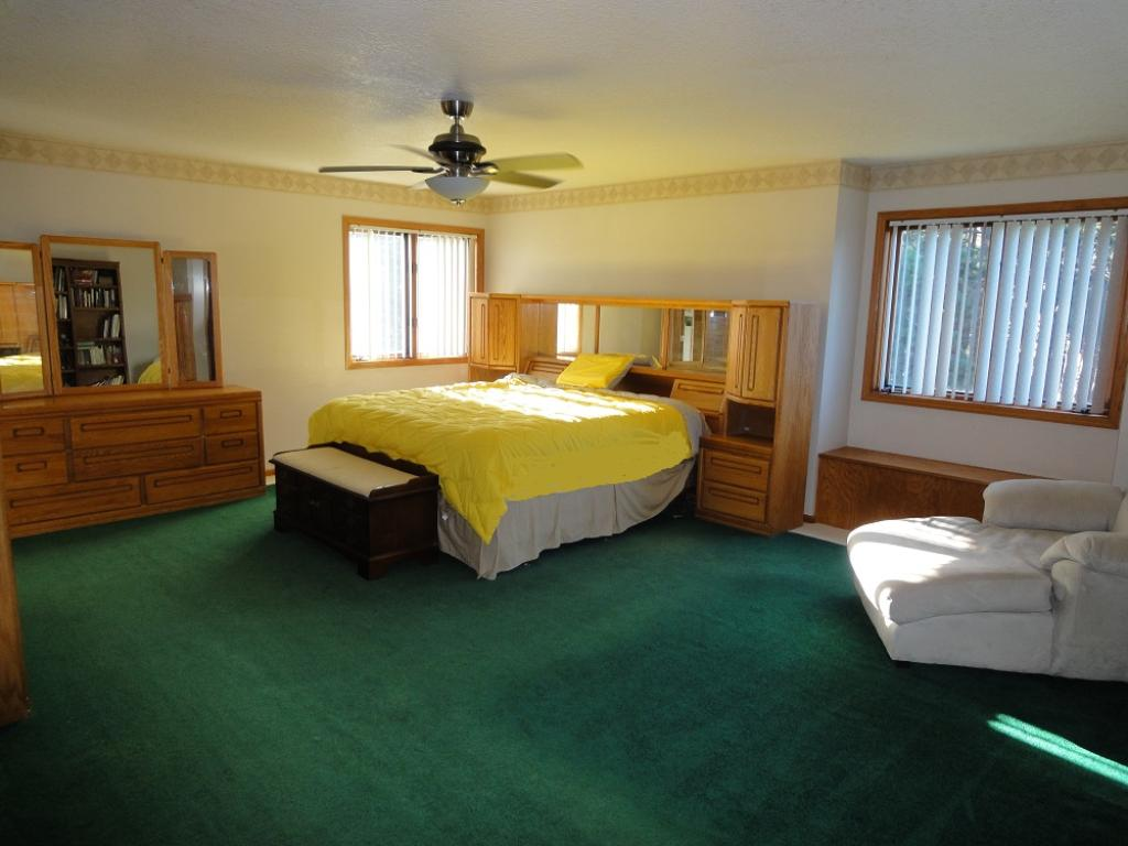 Very large Master Bedroom!! Walk in closet too!