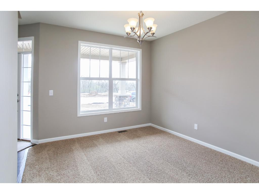 Dining room off of the kitchen. Can be used as a den/study/office