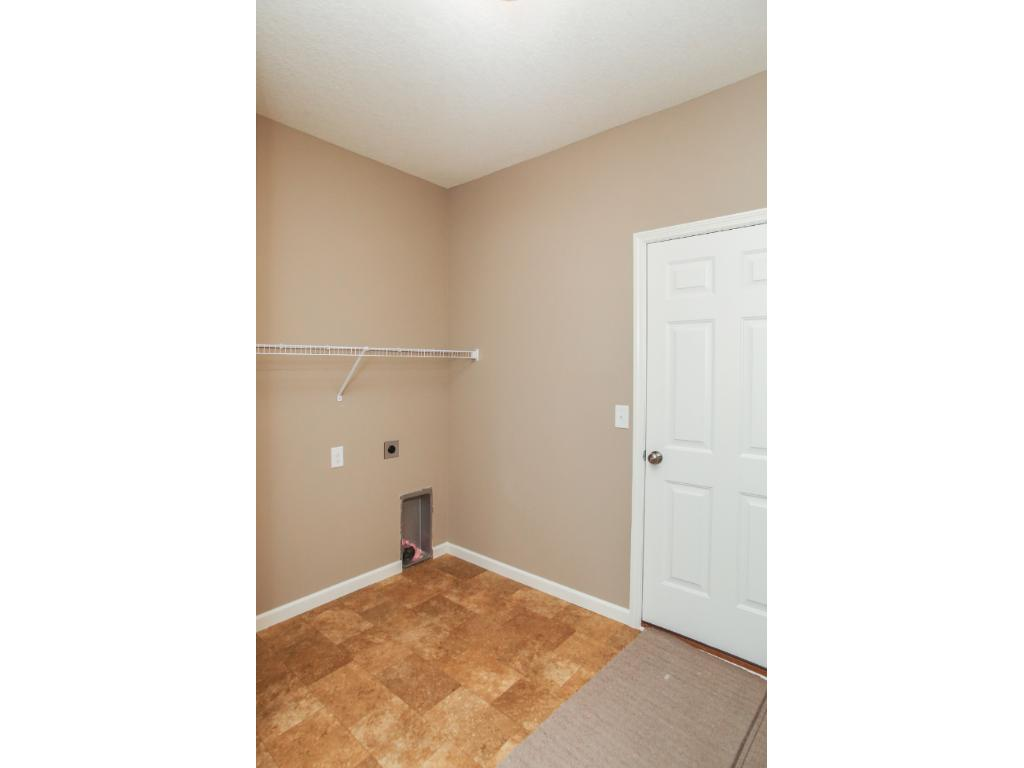 Spacious owners entry with laundry