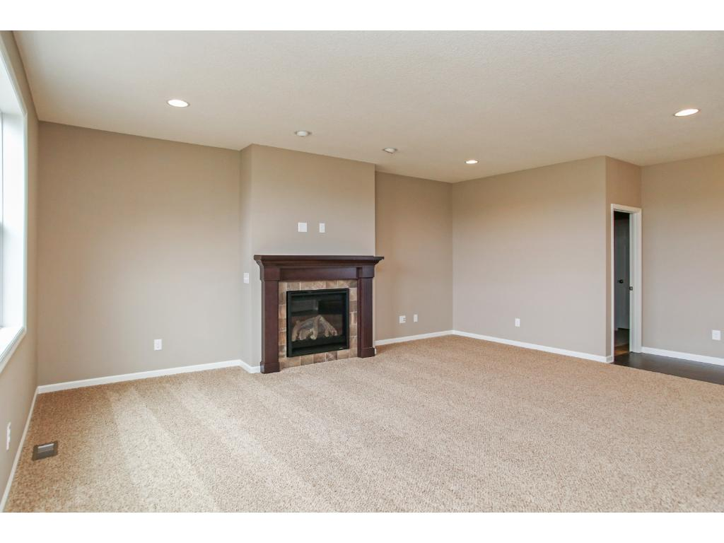 Family room with plenty of natural light