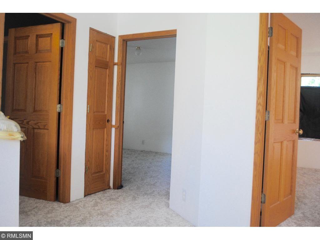 2nd floor, heavy 6 panel doors