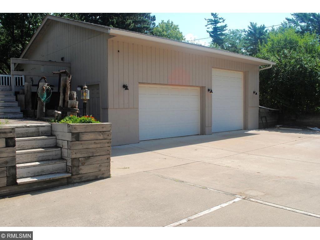 Large garage Large OH door, Storage above