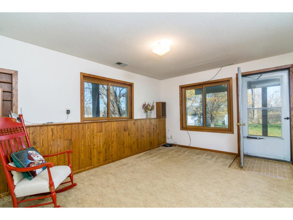 7357 - Lower Level Family Room with walk out to back yard