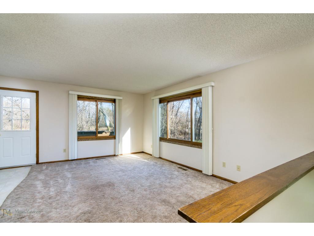 7361 - Living Room  with walk out to deck.