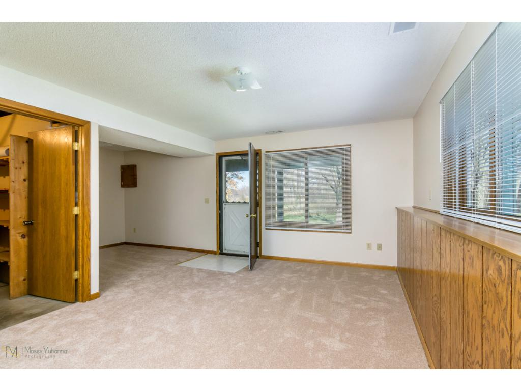 7361 - Lower Level Family Room with walk out to back yard.