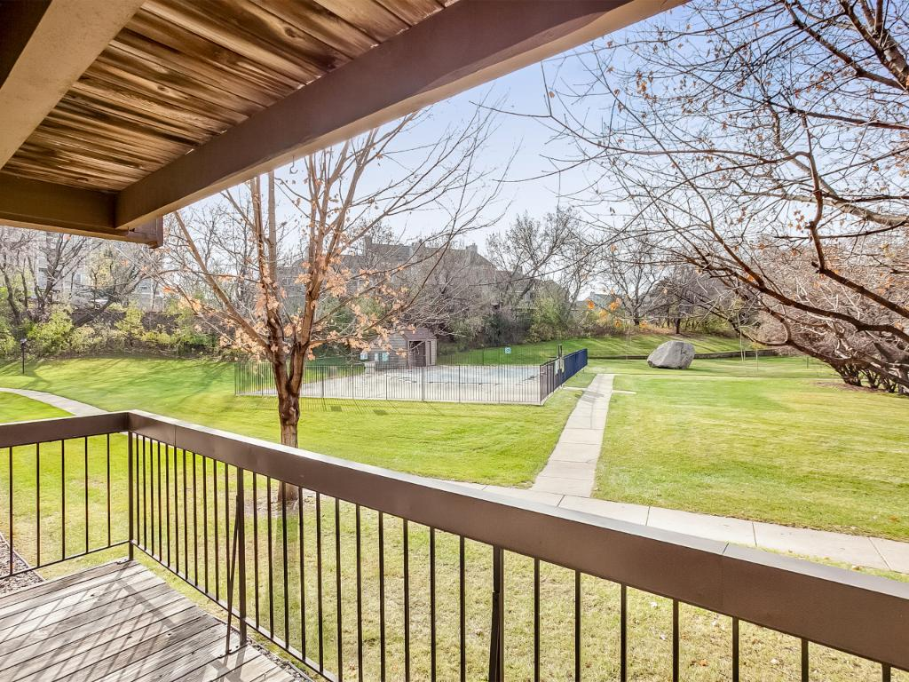 Deck with view of Countryside Private Pool!