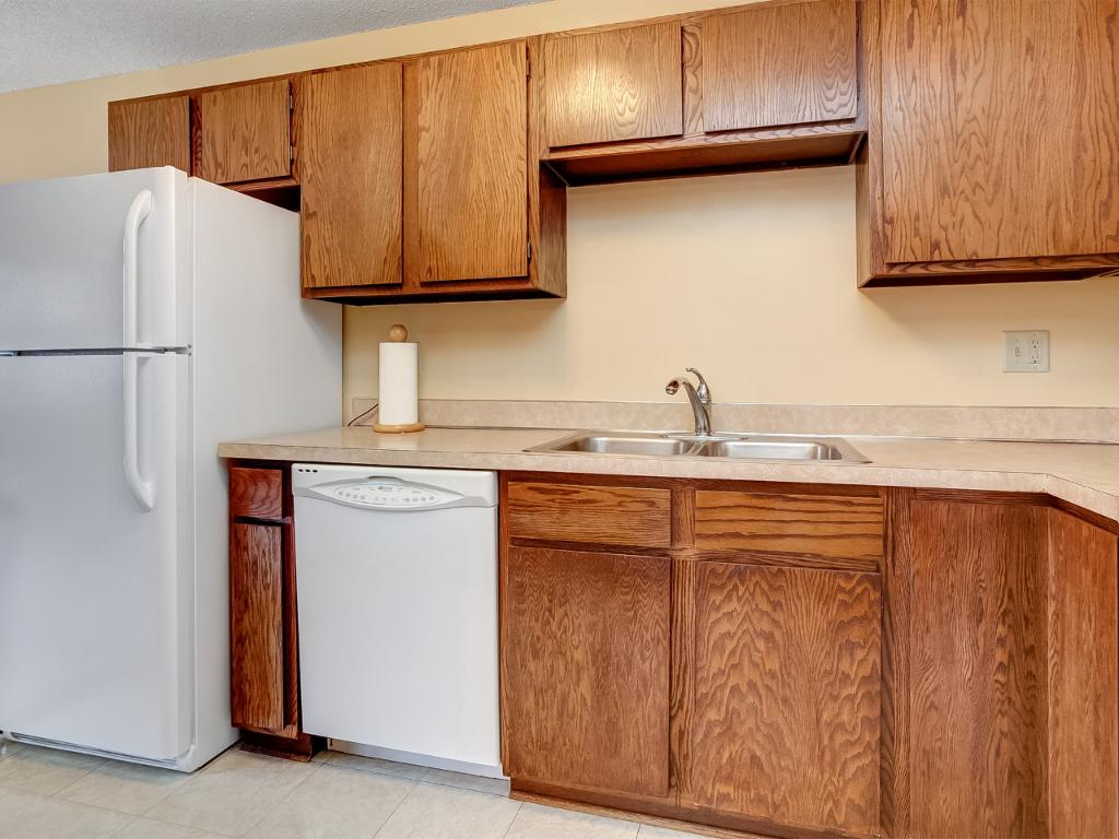 All appliances stay including stackable washer and dryer in unit!