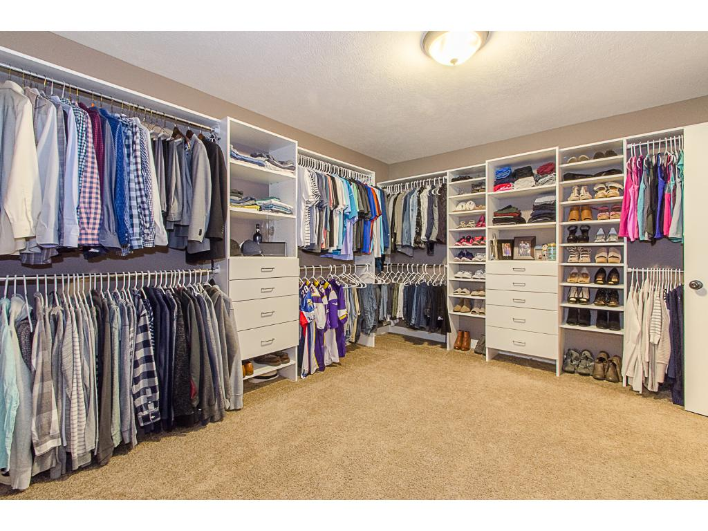 "Can you imagine this being your closet??  This 13 x 12 ""room"" is just off the master bathroom and connects to the laundry area- very convenient!"