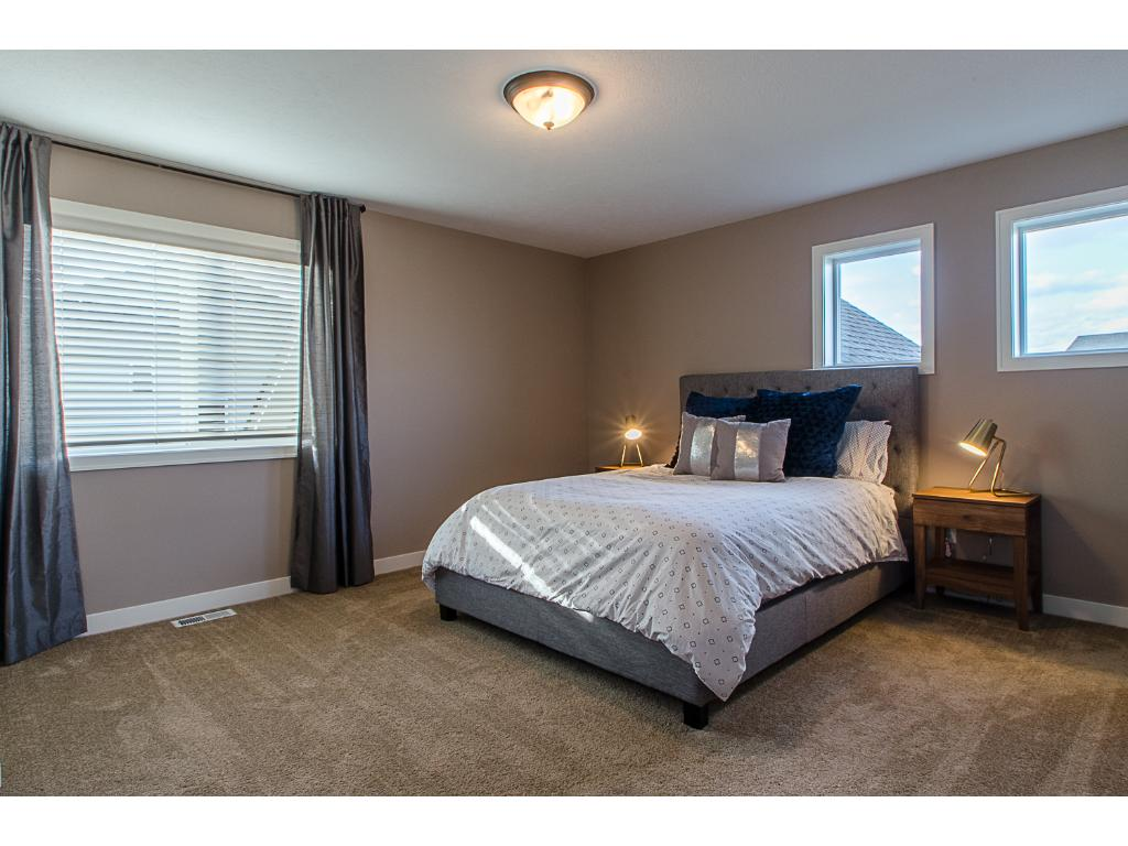3rd upper level bedroom has a walk-in closet with window