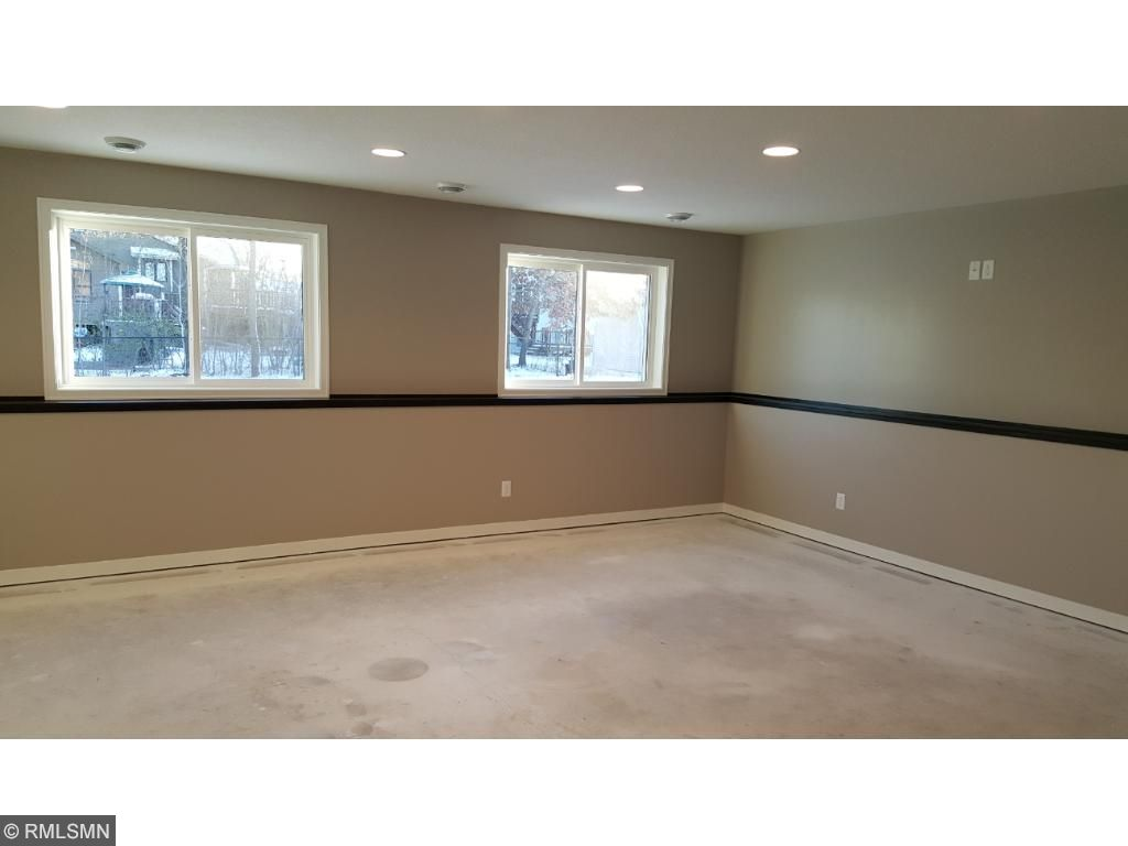 Spacious lower level family room with gas rough-in for potential future fireplace. Cable outlets in all 5 bedrooms, living room and family room. Carpet in lower level to be installed first week of December.
