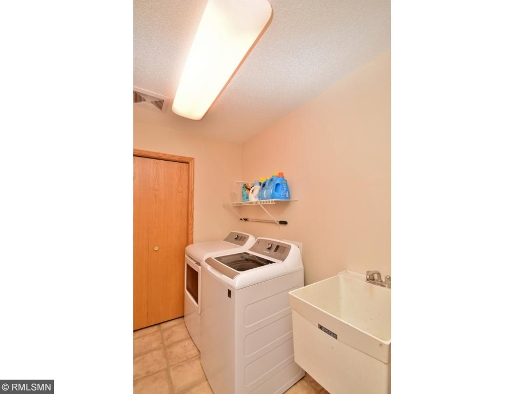 Laundry conveniently located off of kitchen