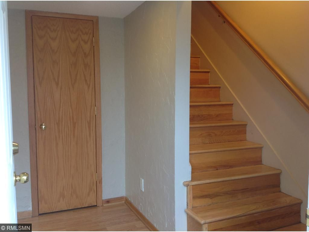 Entry into home:  Wood flooring throughout home. Engineered flooring in lower, original hardwood stairs & up. Seen with entry closetThese steps are slippery, please be careful.