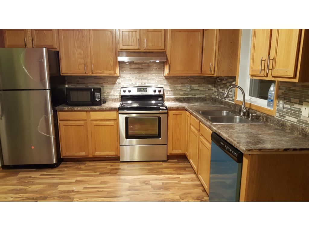 Kitchen, new refrigerate and dishwasher
