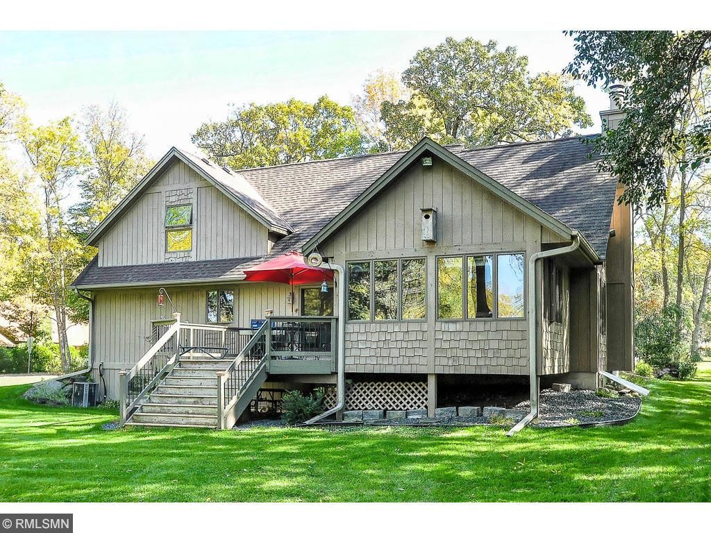 Property faces west for sunsets and abuts a huge wildlife area.