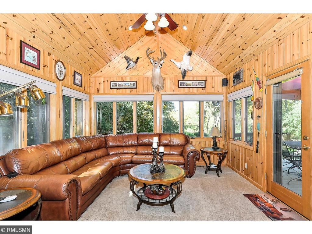 Main floor family room has 2nd fireplace and opens to the deck.