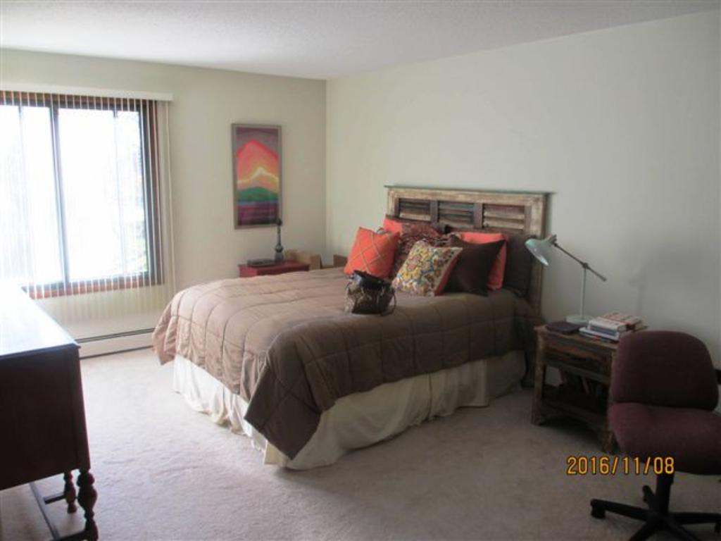 Master suite again with much light and mature trees right outside your window.