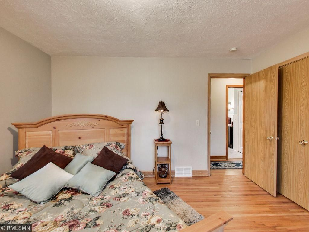 One of four bedrooms total. There are two on the main floor and two upper level.