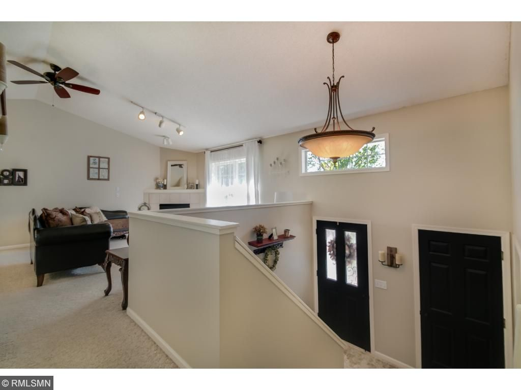 Rare Extra Large Split Level Entryway and Stairwell