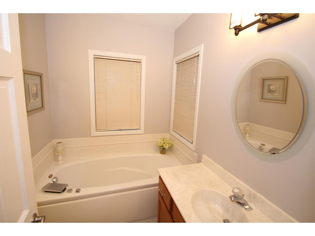Master bath with separate sinks