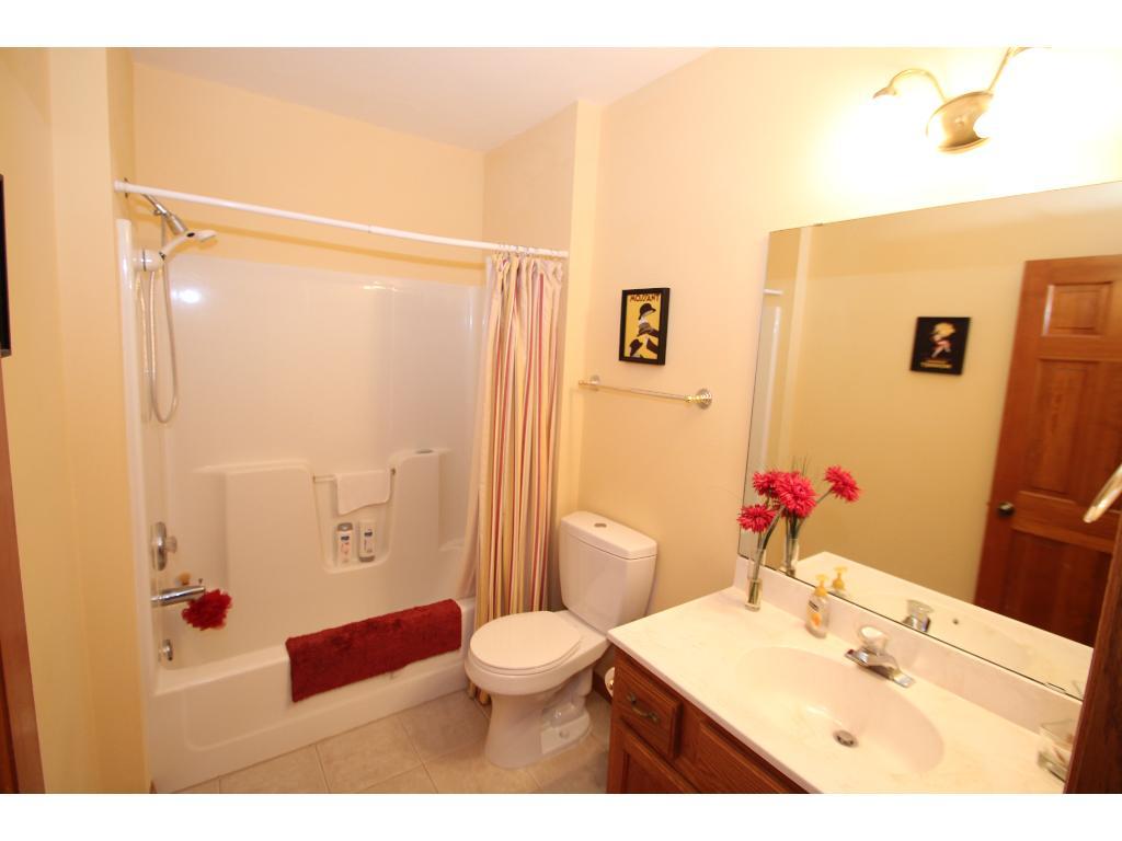 Lower level bath.