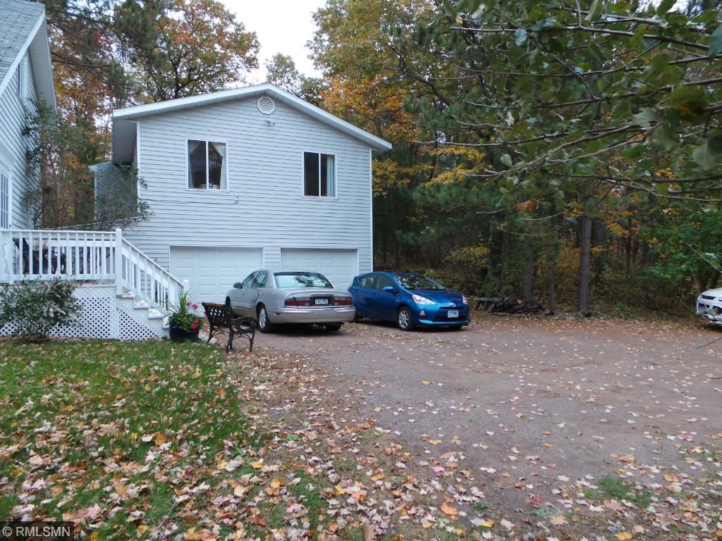 2 Car Heated and Insulated garage with 3 bedrooms and a full bath above the garage!