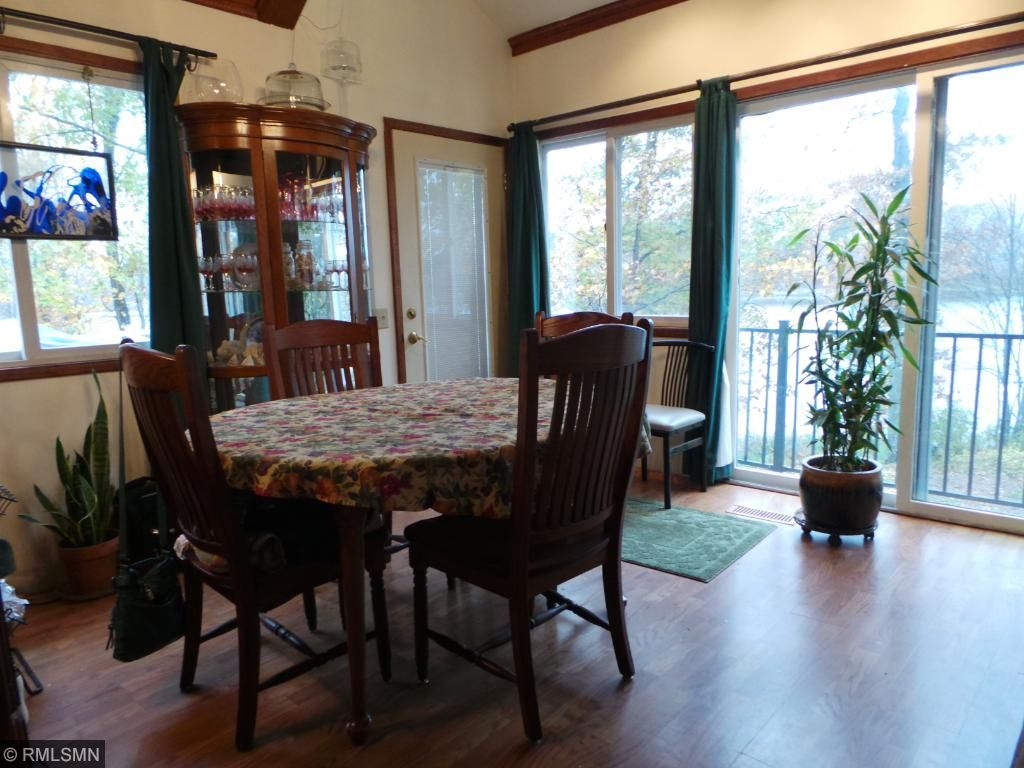Dining Room has a door to the deck for entertaining.