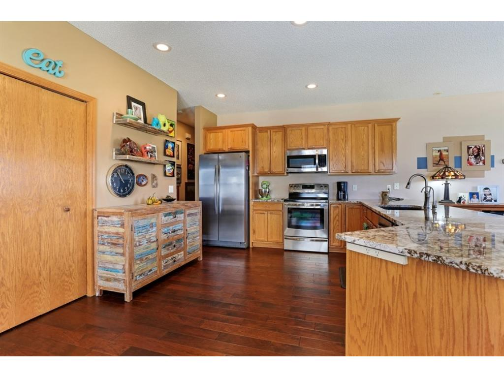 Large pantry - well proportioned - plenty of cabinets and so much more!