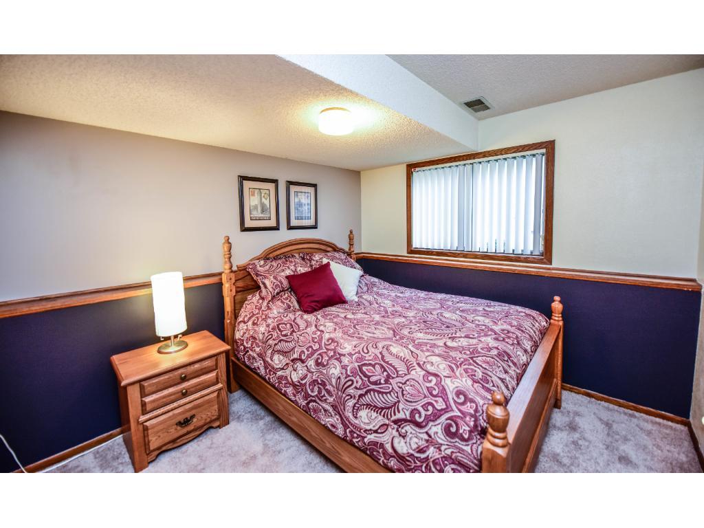Lower level bedroom.