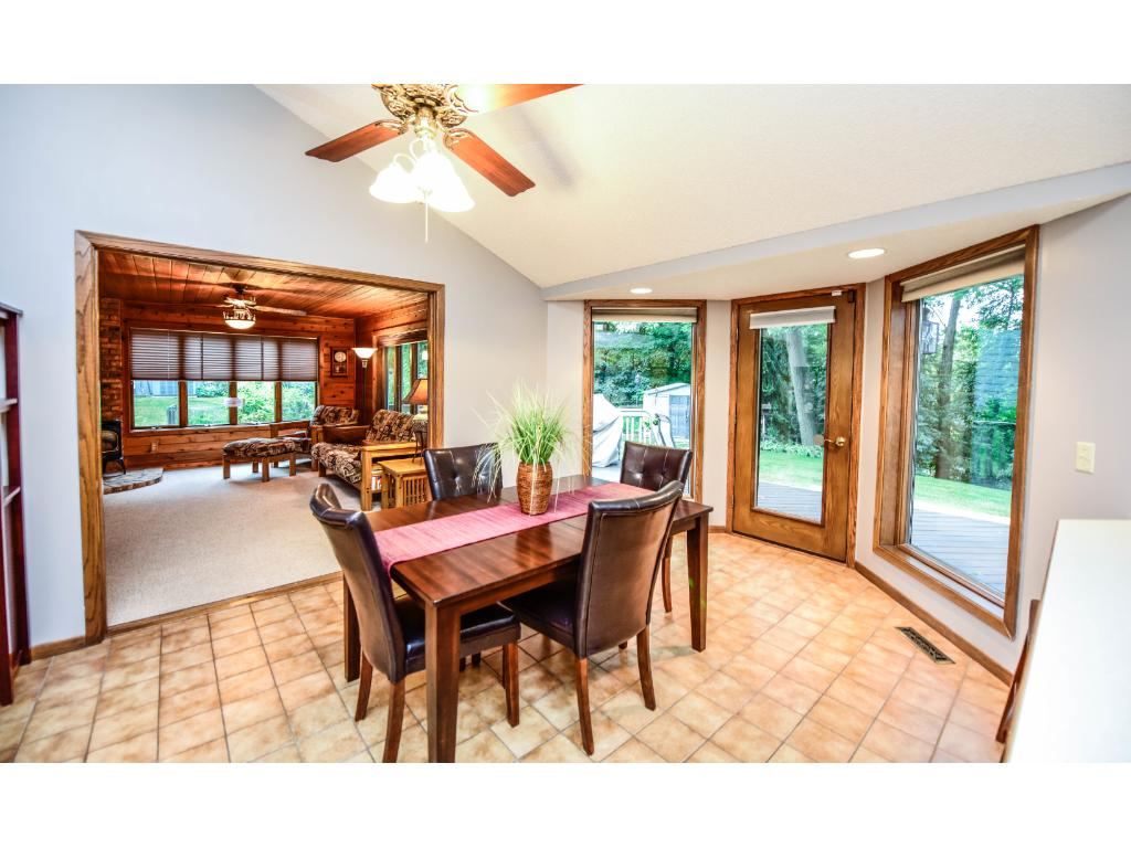 Great space for entertaining in this home with an open concept.