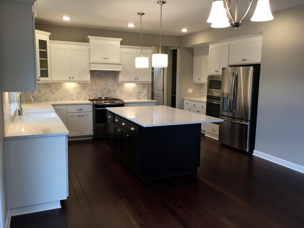 Gourmet Kitchen w/ Stainless Appliances and Quartz Counters and Farmhouse Sink