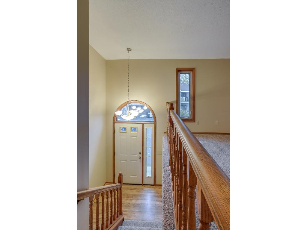 Great entrance to your new home with 2 story ceilings!