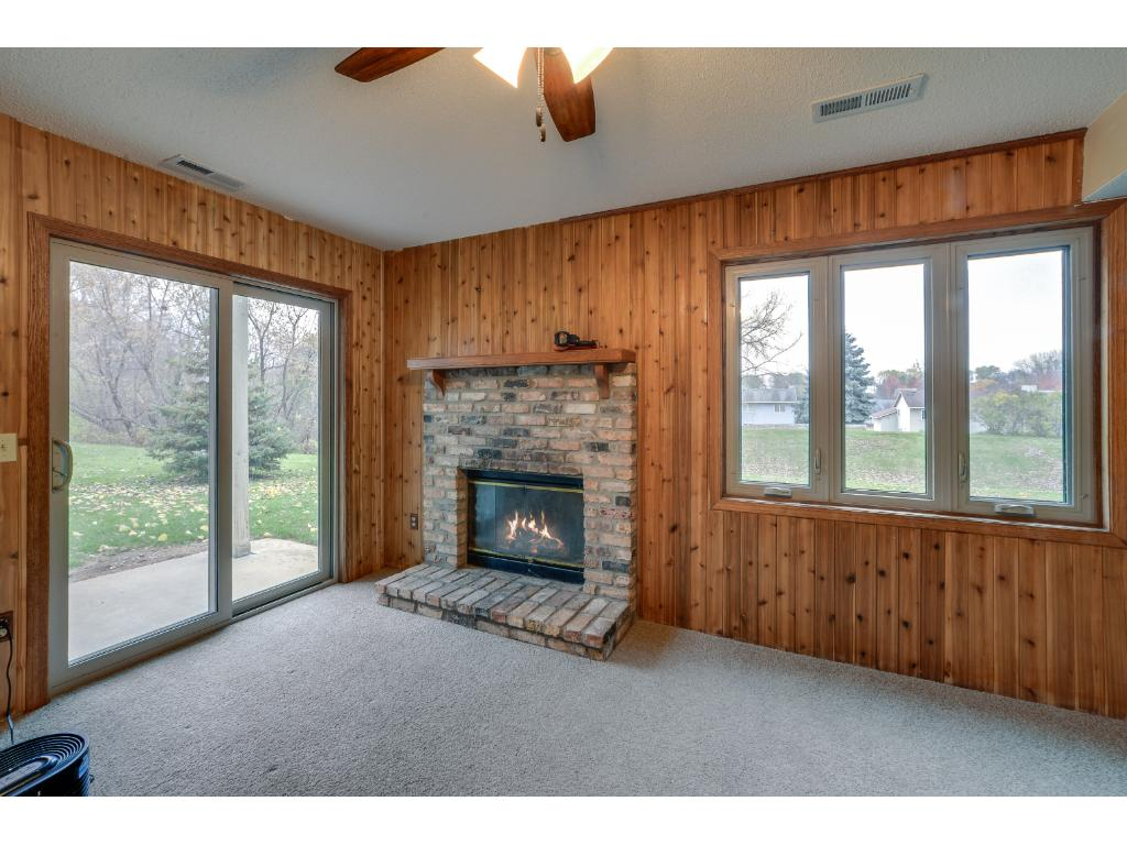 Lower level is completely finished! Great family room space with walk-out access to the patio! Enjoy cozying up to the fireplace this winter!