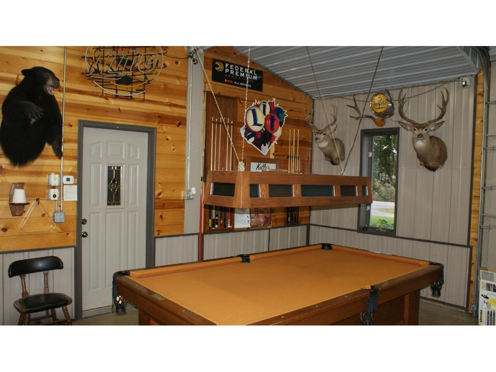 Pool table also in man cave