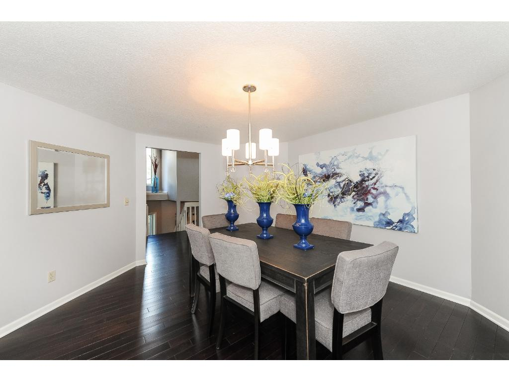 Formal Dining Room with New Hardwood Floor